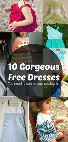 Free Girl Dress Patterns                                                                                                                                                                                 More