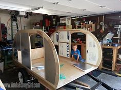 This is part four in a series documenting our homebuilt teardrop trailer. Scroll to the bottom for links to previous posts. Insulating the trailer…