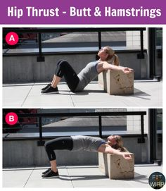 Perform Hip Thrust, bodyweight butt exercise to get a toner and rounder butt. You can do this exercise using your couch, chair or a bench