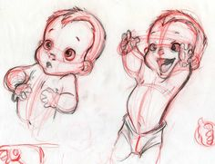 Little baby #Tarzan conceptual design 2, by #Disney