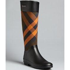 Burberry Rain Boots (20% off)