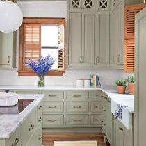 39 Sage Green Kitchen Cabinets Paint Farmhouse Sinks A Short Overview Canberkarac Com Rustic Kitchen Cabinets Kitchen Dining Room Combo Kitchen Cabinets