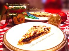 CROSTATA ALLA MARMELLATA DI FICHI ROSSI Sweet Cakes, French Toast, Breakfast, Food, Morning Coffee, Essen, Meals, Yemek, Eten