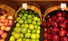 Reportaje fotográfico: Frutas y verduras en la gran tienda de alimentos orgánicos en Hong Kong