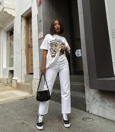 Edgy Outfits, Retro Outfits, Cute Casual Outfits, Summer Outfits, Girl Outfits, Fashion Outfits, Tomboy Fashion, Streetwear Fashion, Looks Pinterest