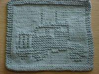 Free+Knitting+Pattern+-+Dishcloths+&+Washcloths+:+Big+Rig+Dishcloth