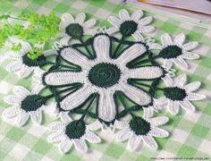 VERA AND MANUALIDADES-Veraxangai: Crocheted Washcloth