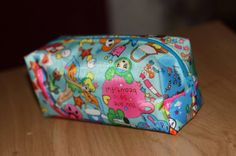 Make up bag cosmetic case pouch waterproof UK seller by SewBitsy, £6.00