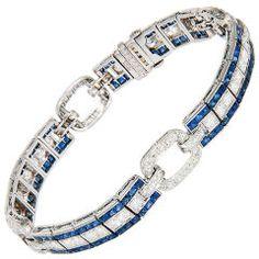 OSCAR HEYMAN Art  Deco Bracelet