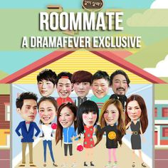 ROOMMATE *** I like this show, even though the first episode had many moments of awkwardness ***