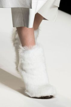 Fashion girls the world over will be making room in their closets for these hot fall 2015 shoe trends, straight from the top runway shows. Crazy Shoes, Me Too Shoes, Fluffy Shoes, Shoes 2015, All About Shoes, 2016 Trends, Trendy Shoes, Fall 2015, Fendi