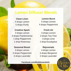 10 Recipes For Lemon Essential Oil Moritz Fine Designs