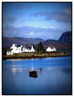 Plockton Bay, Western Scotland