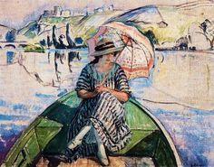 Promenade Sur L'Eau, 1918, Henri Lebasque