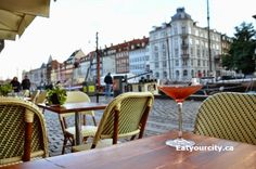 Denmark in a day (or - Nyhavn Canal, Copenhagen - Heering Restaurant and Bistro Part Denmark Street, Alcoholic Punch, Singapore Sling, Elisabeth Ii, Dog Insurance, Can Dogs Eat, Soft Serve, Simple Syrup
