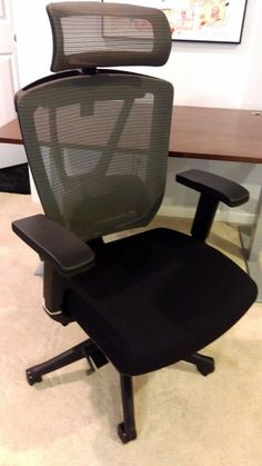 Autonomous ErgoChair: a review | Todd Neff Cheap Office Chairs, Best Office Chair, Brass Tacks, Sit Stand Desk, Office Environment, Room Carpet, Stay Cool, Cool Chairs, Family Room