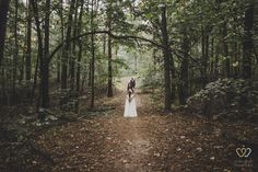Wedding photography by Monika Wolczyk. waiting bride #waiting#inthewoods #weddingphotography #bride #groom #photography