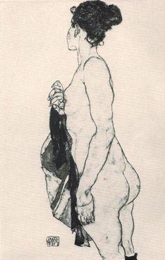 egon schiele ➹ (autriche I890 † vienne I9I8) expressionnisme sécession de vienne / sujet nude