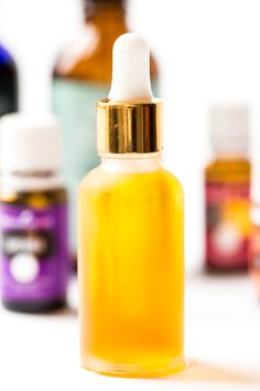 This DIY facial serum is a perfect everyday oil that combines two incredibly hydrating oils, along with essential oils, to help the look and feel of skin.