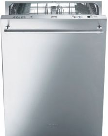 Smeg Fully Integrated Dishwasher with 13 Place Setting Capacity, 9 Wash Cycles, Stainless Steel Tub, 5 Temperature Options, Water Leak Protection System and Delay Timer Fully Integrated Dishwasher, Apartment Kitchen, Energy Star, Place Settings, Wine Rack, Washing Machine, Tub, Home Appliances, Indoor