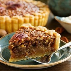Pecan pie is one of our go-to pie recipes around the holidays and we've tinkered around over the years with all the recipes we can come up with. We've tried pecan pies with chocolate components, Pie Recipes, Low Carb Recipes, Sweet Recipes, Dessert Recipes, Cooking Recipes, Syrup Recipes, Best Pecan Pie, Pecan Pies, Thanksgiving Pies
