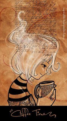 Coffee Time / Coffee art / Coffee Shop Stuff