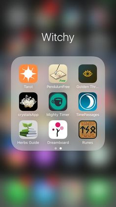Witchy Philosophe — My witchy iOS apps. I've never gotten more… – Christina Brown Witchy Philosophe — My witchy iOS apps. I've never gotten more… Witchy Philosophe — My witchy iOS apps. Witch Spell Book, Witchcraft Spell Books, Green Witchcraft, Wiccan Magic, Wiccan Spells, Magick, Witch Apps, Witchcraft For Beginners, Herbal Magic