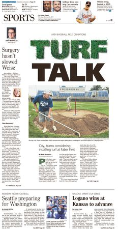 News Design: St. Cloud Times' October 6, 2014 sports cover