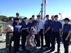 Ship tour of HMAS Ballarat