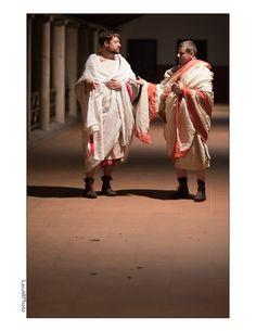 Scheming. Legio XXI Rapax - historical reenactment of roman legion. Rekonstrukcja historyczna rzymskiej armii.