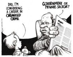 Funny pictures about I'm considering a career in organized crime. Oh, and cool pics about I'm considering a career in organized crime. Also, I'm considering a career in organized crime photos. Cute Jokes, Funny Jokes, Caricature, Big Brother, Humor Grafico, Cool Cartoons, Political Cartoons, Satirical Cartoons, Political Quotes