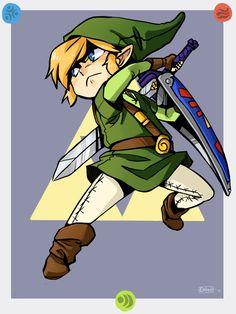 Toon Link, by DANI