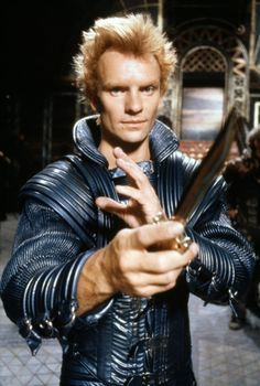 "Sting as Feyd-Rautha Harkonnen in ""Dune"" (1984)"