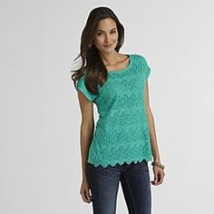 $23.99 a day off in many colors, but I'm hearting teal for this one. ---  Womens Tops: Get Womens Tunic Tops, Tank Tops and More at Sears