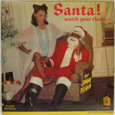 Santa Watch Your Claws Worst Christmas Albums Funny Christmas Worst Christmas Music Worst Album Covers Holiday Songs Awkward Family Christmas Greatest Album Covers, Cool Album Covers, Bad Album, Lp Cover, Vinyl Cover, Cover Art, Christmas Albums, Christmas Meme, Christmas Music