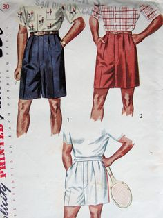 S shorts styles in 2019 мода, одежда, мужская мода. 1950s Fashion Menswear, 1940s Fashion, Vintage Fashion, Victorian Fashion, Fashion Fashion, Vintage Shorts, Vintage Outfits, Fashion Illustration Vintage, Tennis Fashion