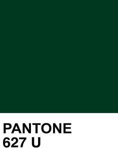 PANTONE 627 U paint card | The House of Beccaria~