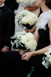 style me pretty black and white wedding