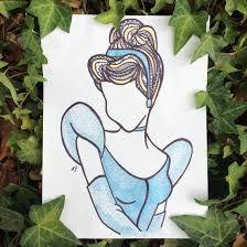 Resultado de imagen para vestidos de princesas zentangle