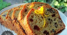 Orange Date Walnut Loaf - Egg less, Wholegrain and Low fat Vegan Cake, Vegan Desserts, Easy Desserts, Egg Free Recipes, Cake Recipes, Bread Recipes, Sweet Recipes, Yummy Recipes, Yummy Food