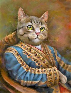 Katten: Staatsportretten.