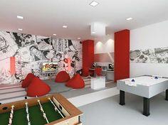 Lan house e sala de Jogos