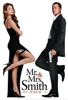 8. Mr. & Mrs. Smith (Sr. y Sra. Smith) (2005). Muy divertida, una pareja explosiva.