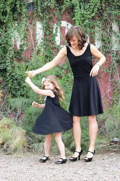 Carrollton Avenue Dress for Women and for Girls - PDF pattern bundle - spring fashion - fashion - skirt - dress - DIY  - by Seamingly Smitten sewing patterns