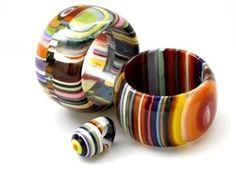 Carlos Sobral amazing Brazilian resin jewelry artist!
