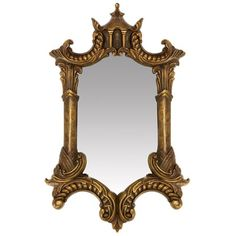 An elegant old world mirror with a rich gold finish. Elegant old world mirror. Style # at Lamps Plus. Gold Bathroom Accessories, Home Decor Accessories, Chandeliers, Living Room Decor Tips, Wall Mounted Mirror, Wall Mirror, Lighted Mirror, Gold Home Decor, Cool Mirrors