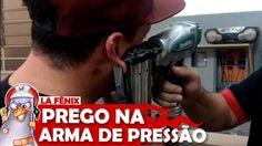 DESAFIO DO PREGO NA PRESSÃO (PINADOR) | ALERTA DE CENAS FORTES!