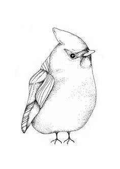 The other little birdie, 21x30 cm - Illustration - TAVLOR & POSTERS