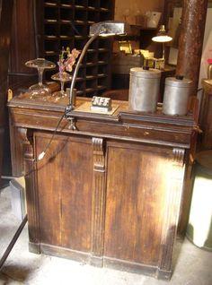 Caisse comptoir 1940