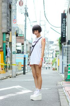 Street Snaps@Street of Harajyuku, Tokyo Fashionsnap.com | Fashionsnap.com